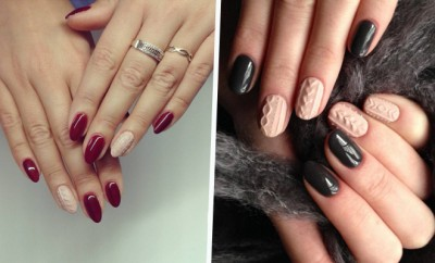 Cable Knit Nails Are Now A Thing On Instagram Hauterfly
