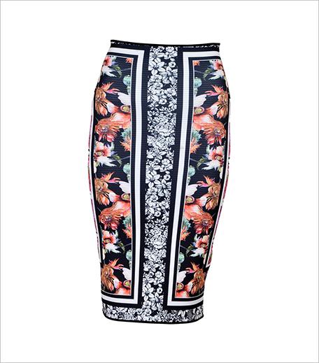 Clover canyon Floral Garden Scarf Reversible Skirt_Hauterfly