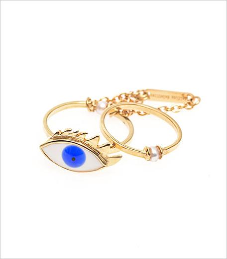 DELFINA DELETTREZ Pearl, enamel & yellow-gold eye ring_Hauterfly