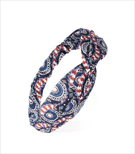 F 21 Twisted Abstract Print Headwrap_Hauterfly
