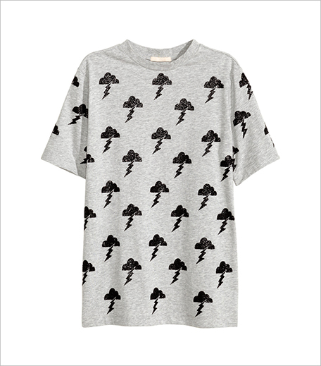 H&M Glittery T-Shirt _Hauterfly
