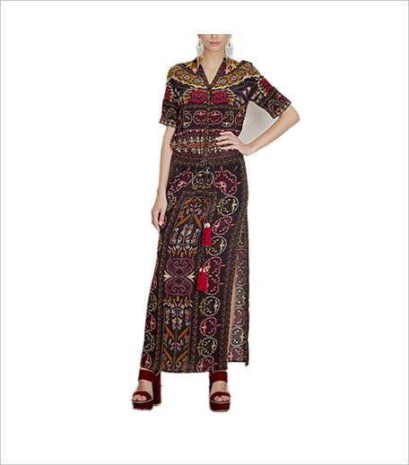Hemant & Nandita Shawl Print Crepe Shirt Dress_Shirt Dress Hauterfly