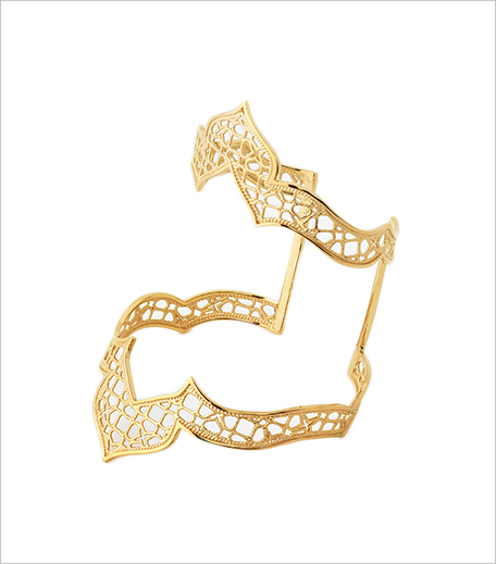 Isharya Temple Muse Filigree Statement Cuff_Hauterfly