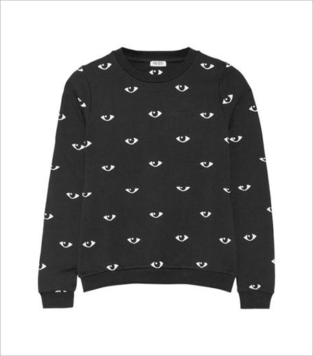 Kenzo Eye-print cotton-fleece sweatshirt_Hauterfly