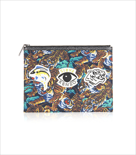 Kenzo Tiger and eye-print nylon pouch_Hauterfly