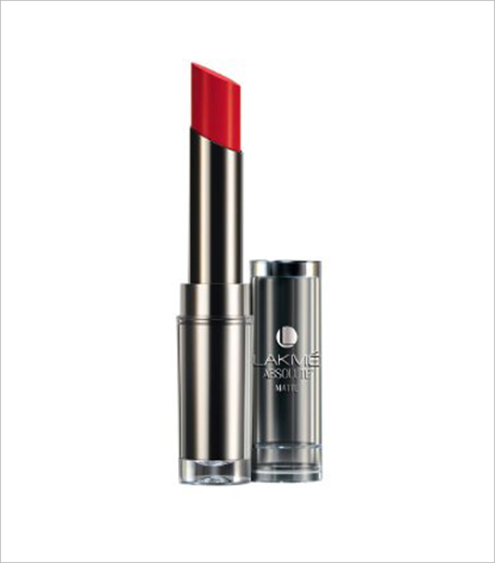 Lakme Absolute Sculpt Hi-Definition Matte Lipstick - Red Rush_Hauterfly