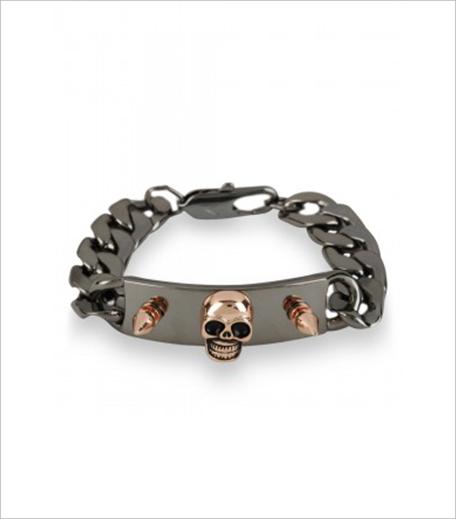 MISTER BY MAWI Skull & Spike Bracelet1_Hauterfly