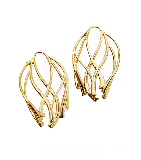 Manifest Designs Ribbon Large Hoop Earrings_Hauterfly