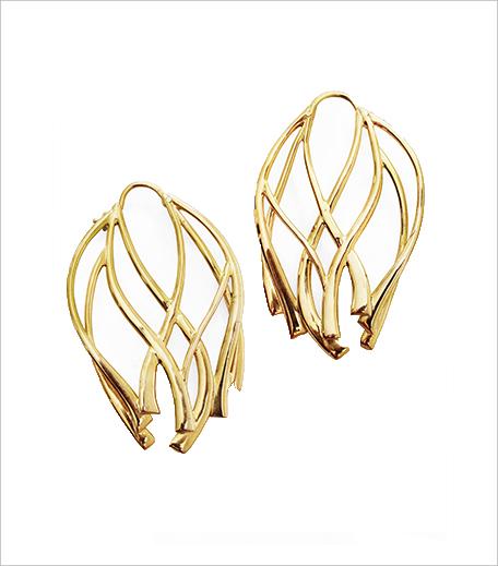 Manifest Designs Ribbon Large Hoop Earrings_Hauterfly