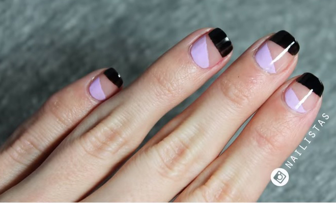 Minimalist nail art you can actually wear to work hauterfly prinsesfo Gallery