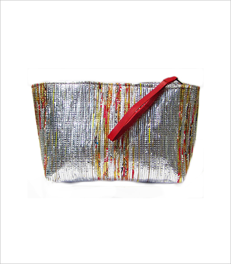 Nete JOLI RECYCLED METALLIC POUCH_Hauterfly