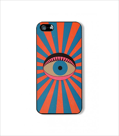 Olive Tag Eye See You iPhone Case_Hauterfly