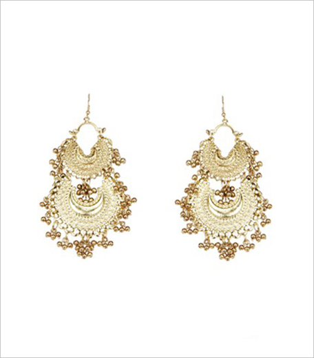 RITIKA SACHDEVA 1 Twin Crescent Ghungroo Earrings_Hauterfly