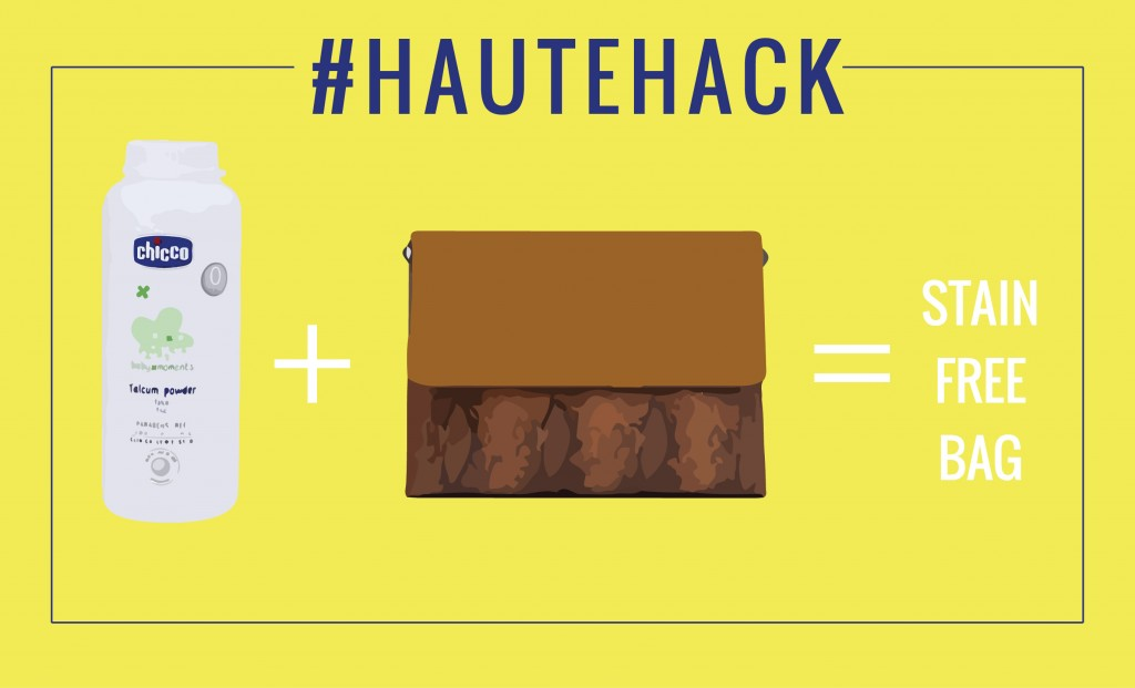 Hautehack Remove Oil Stains From Your Leather Purse Easily