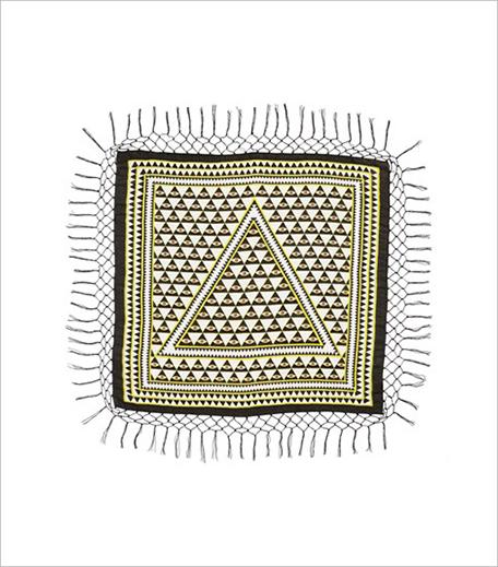 T+C by Theodora & Callum 'Evil Eye' Square Scarf_Hauterfly