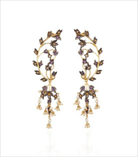 THE JAIPUR CURATION Floral Ear Cuff_Hauterfly
