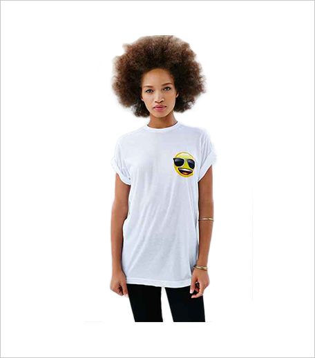 Urban Outfitters Emoji Smile Tee_Hauterfly