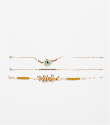 Zara EYE, CHAIN AND STONES BRACELETS1_Hauterfly