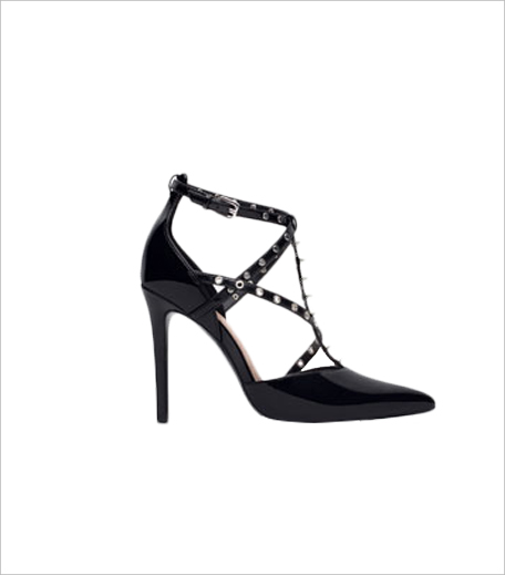 Zara HIGH HEEL SHOES WITH STUDS_Hauterfly