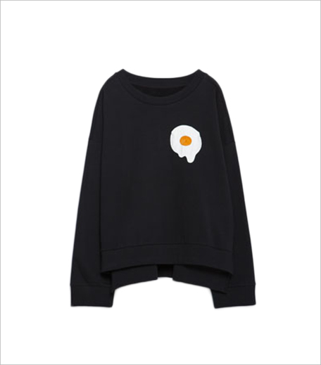 Zara SWEATSHIRT WITH APPLIQUÉ_Hauterfly