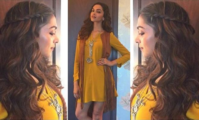 Deepika Kills It With Beautiful Braids Bombshell Waves Hauterfly