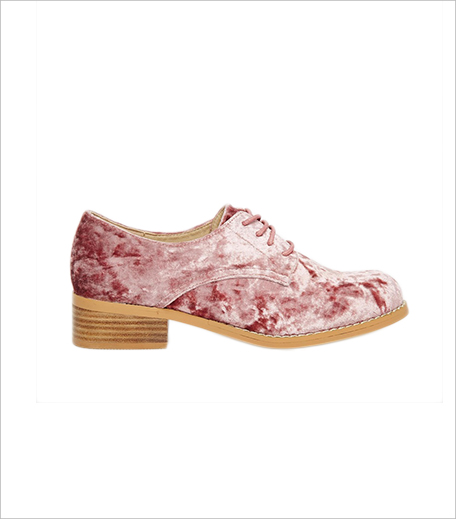 ASOS MAGIC Velvet Brogues_Hauterfly