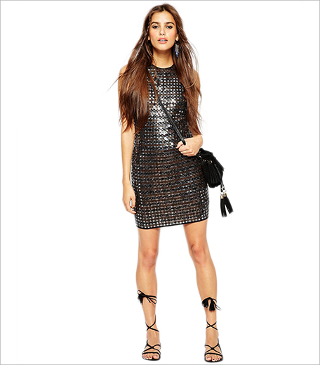 ASOS Premium All Over Embellished MIni Dress_Hauterfly