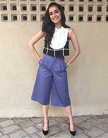 Culottes Shraddha Kapoor_Hauterfly