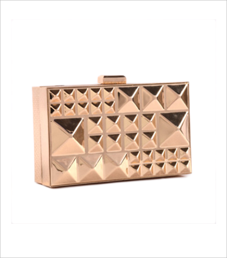 Cupidity Gold Rivets Clutch_Hauterfly