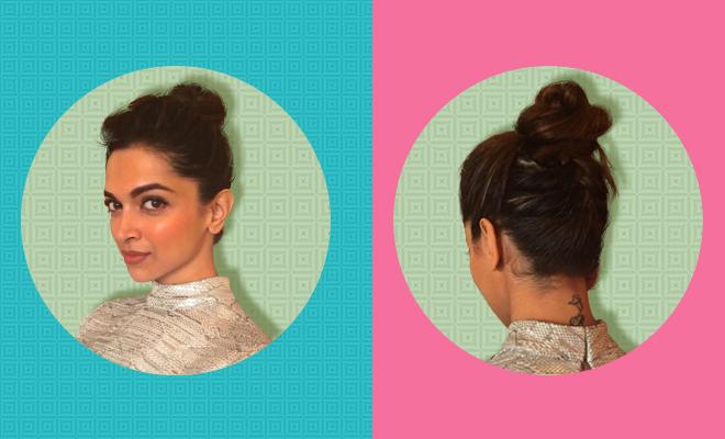 Deepika Upside-Down French Braided Bun_Hauterfly