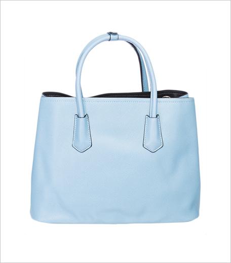 Elespry Blue Polyurethane (Pu) Handbag_Hauterfly