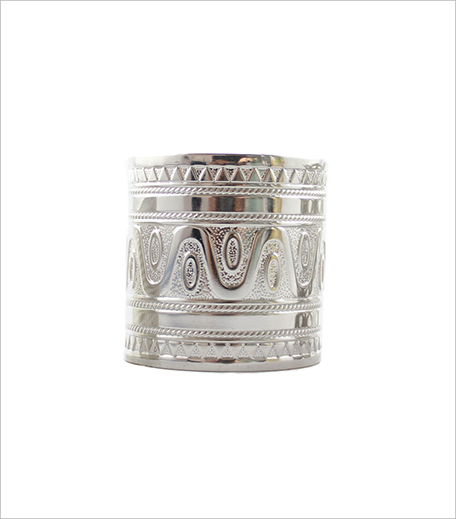 Ethnic Chic Silver Cuff_Hauterfly