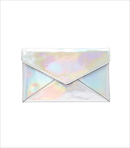 Forever 21 Holographic Envelope Clutch_Hauterfly