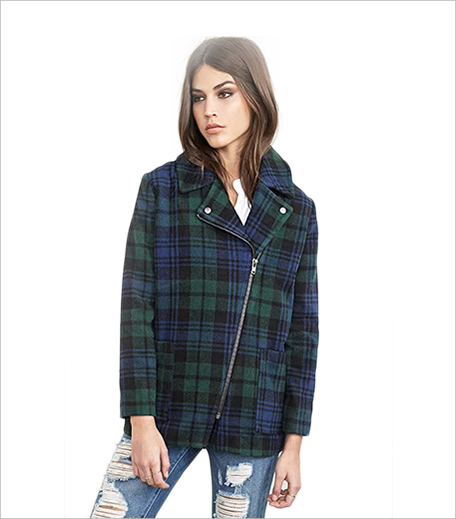 Forever 21 Plaid Flannel Overcoat_Hauterfly