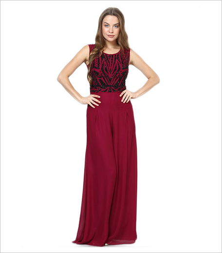 Jabong Dressology Wine Jumpsuits_Hauterfly