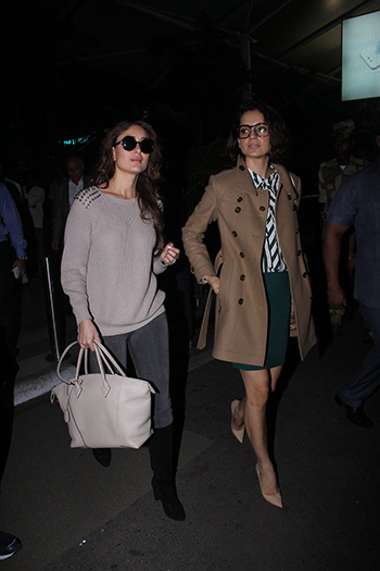 Kareena Kapoor and Kangana Ranaut Week In STyle Dec 12_Hauterfly