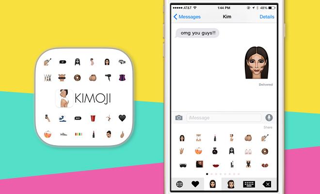 Kimoji App Kim Kardashian Lead_Hauterfly