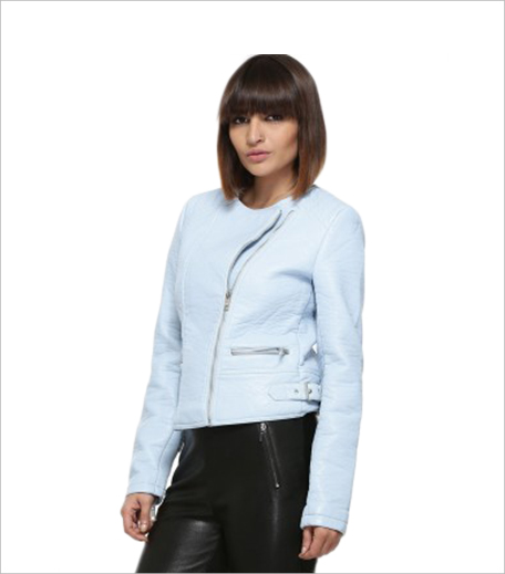 Koovs VILA Shoulder Detail Biker Jacket_Hauterfly
