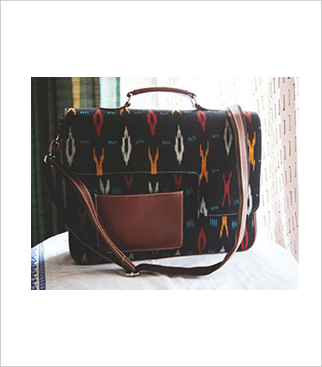 Leather Ikat Laptop Bag Postbox_Simi Editors Pick Hauterfly