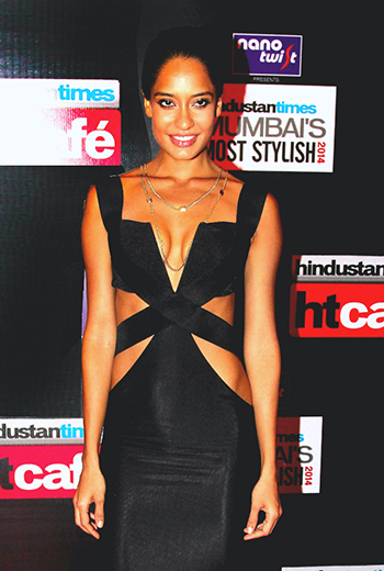 Lisa Haydon Naked Dress 1_Hauterfly