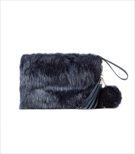 Mango FAUX FUR TEXTURED CLUTCH_Zahra Hauterfly