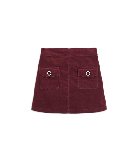 Mango VELVET POCKET SKIRT_Hauterfly