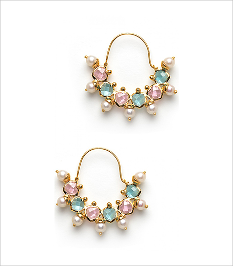 Manish Arora For Amrapali Gold Plated Candy Bijou Earring_Hauterfly