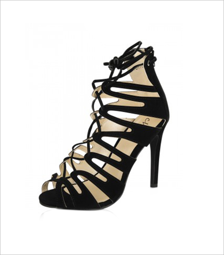 NO DOUBT Lace Up Heeled Sandals Koovs_Hauterfly