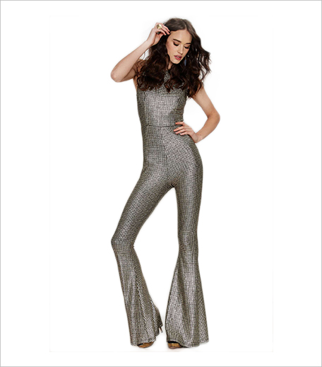 Nasty Gal Hot Shot Metallic Jumpsuit_Hauterfly