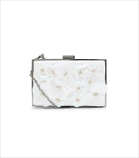 New look Cream 3D Flower Box Clutch_Hauterfly