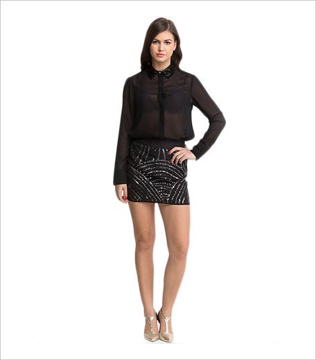 Oxoloxxo Black Pencil Skirt Jabong_Hauterfly