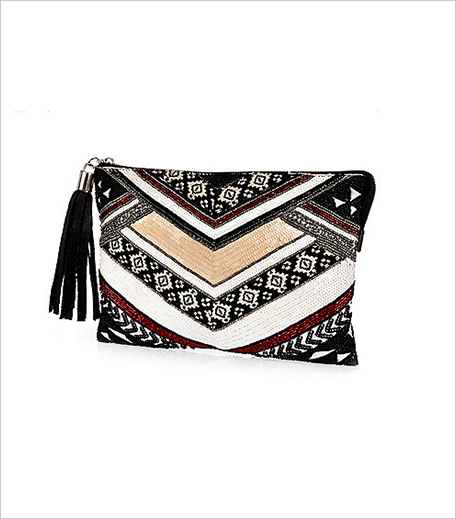River island Black embellished clutch handbag_Hauterfly