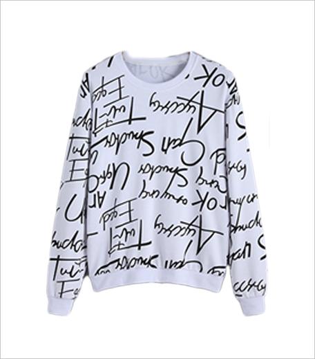 SR Store Letters Print Sweatshirt_Hauterfly