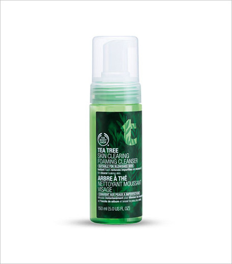 The Body Shop Tea Tree Skin Clearing Foaming Cleanser_Hauterfly